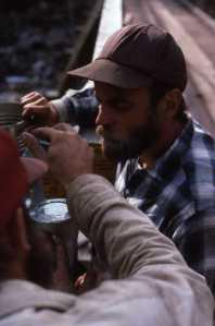 Daryl Hoyt, 1987, Eagle Mountain Bridge, Lochsa River, Idaho