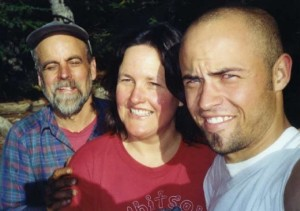 Family portrait at the Dutch Miller Gap, Washington, in 2003.